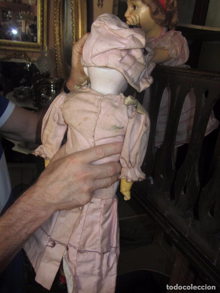 Muñecas Porcelana: Antigua Muñeca Alemana de Porcelana - Leer Descripción - - Foto 9 - 92394250