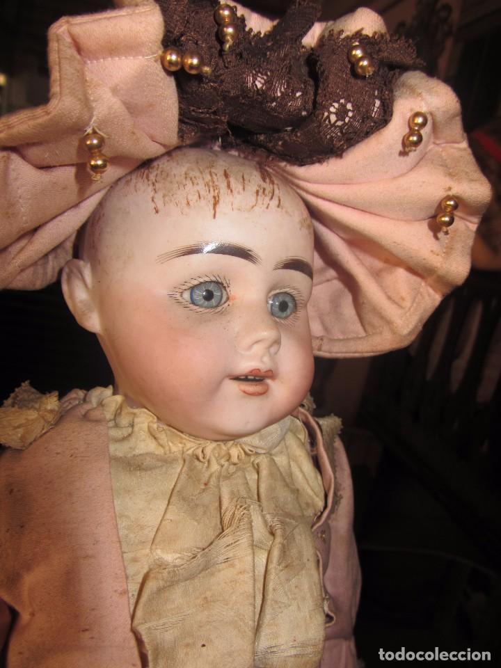 Muñecas Porcelana: Antigua Muñeca Alemana de Porcelana - Leer Descripción - - Foto 11 - 92394250