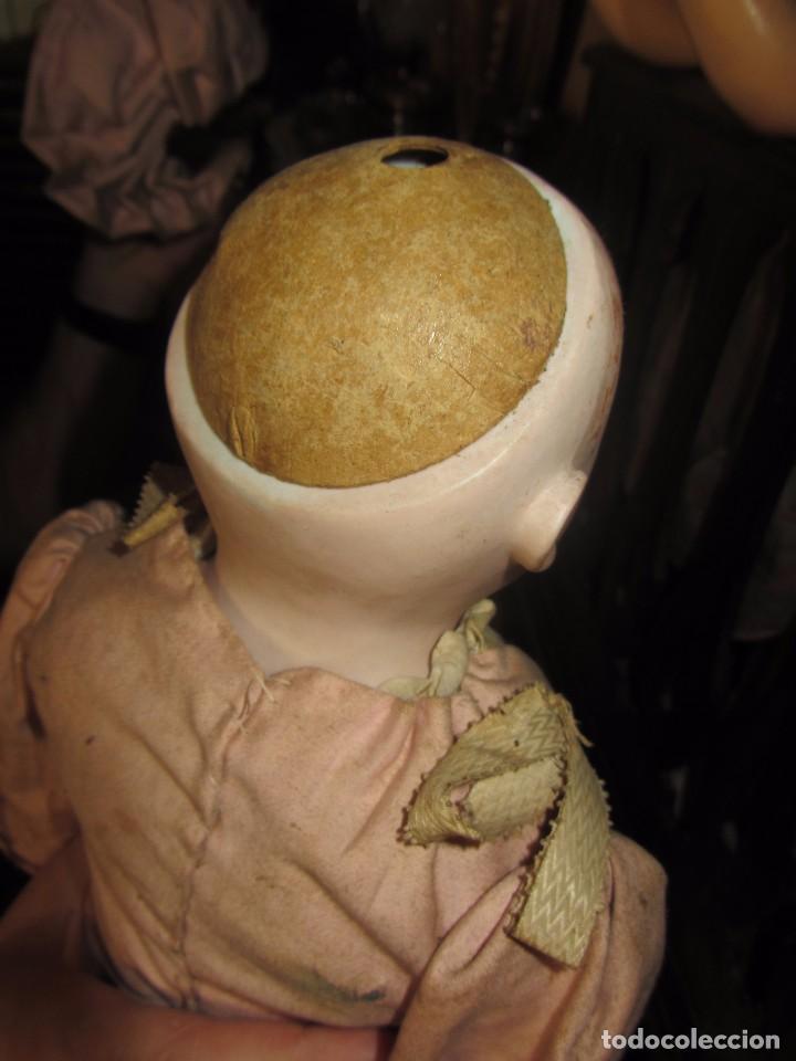 Muñecas Porcelana: Antigua Muñeca Alemana de Porcelana - Leer Descripción - - Foto 12 - 92394250