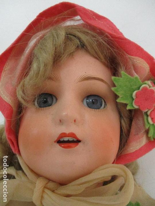 Muñecas Porcelana: Antigua Muñeca - Andadora - Sello Simon & Halbing, Talla 1748 - Marca Lehman - Perfecta !!! - Foto 4 - 93101840