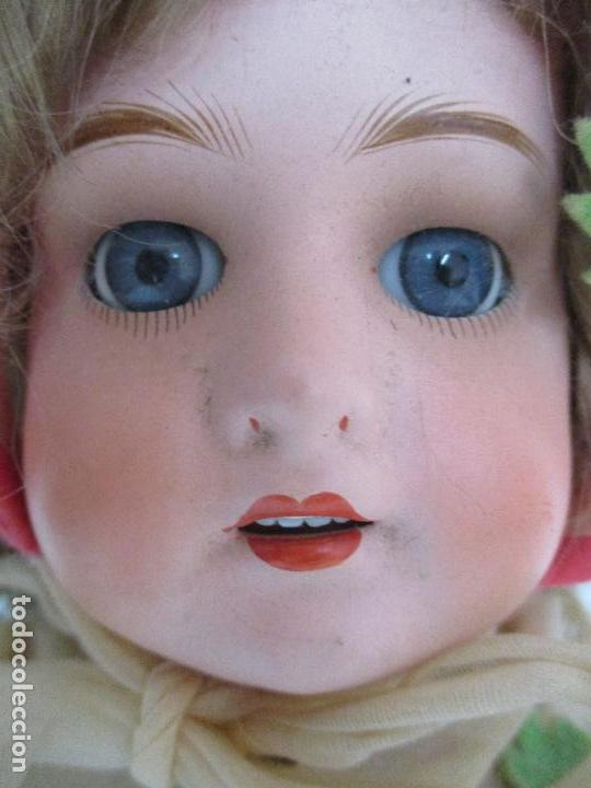 Muñecas Porcelana: Antigua Muñeca - Andadora - Sello Simon & Halbing, Talla 1748 - Marca Lehman - Perfecta !!! - Foto 6 - 93101840