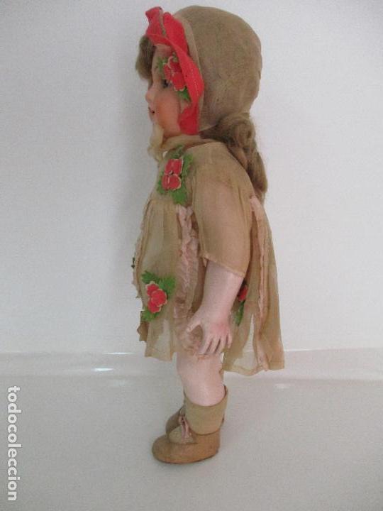 Muñecas Porcelana: Antigua Muñeca - Andadora - Sello Simon & Halbing, Talla 1748 - Marca Lehman - Perfecta !!! - Foto 22 - 93101840