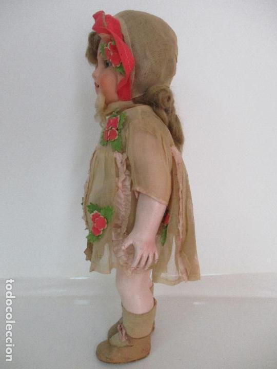 Muñecas Porcelana: Antigua Muñeca - Andadora - Sello Simon & Halbing, Talla 1748 - Marca Lehman - Perfecta !!! - Foto 24 - 93101840