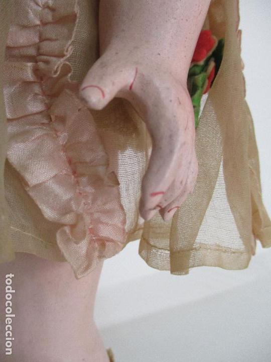 Muñecas Porcelana: Antigua Muñeca - Andadora - Sello Simon & Halbing, Talla 1748 - Marca Lehman - Perfecta !!! - Foto 25 - 93101840