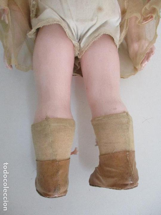 Muñecas Porcelana: Antigua Muñeca - Andadora - Sello Simon & Halbing, Talla 1748 - Marca Lehman - Perfecta !!! - Foto 28 - 93101840