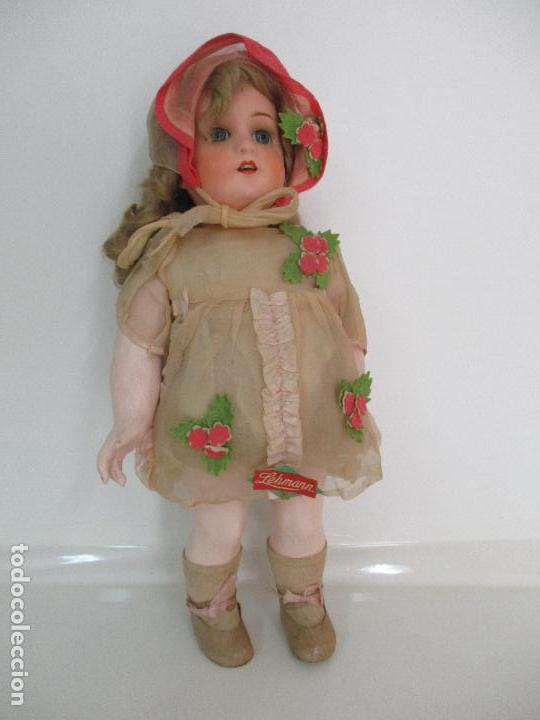 Muñecas Porcelana: Antigua Muñeca - Andadora - Sello Simon & Halbing, Talla 1748 - Marca Lehman - Perfecta !!! - Foto 35 - 93101840