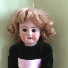 Muñecas Porcelana: MUÑECA ANTIGUA DE PORCELANA, BUEN ESTADO Y ROPA INTERIOR ORIGINAL.. Lote 97163774