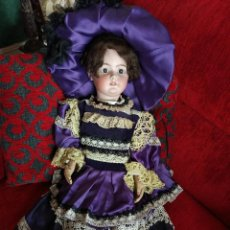 Muñecas Porcelana: GRANDIOSA SIMON AND HALBIG 1078 MOLDE 16 MIDE 76 CM. Lote 97359079
