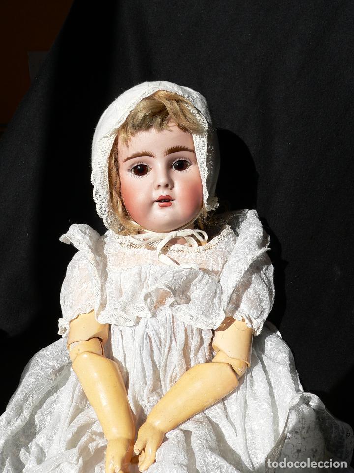 Muñecas Porcelana: Preciosa Muñeca de porcelana Simon&Halbing Mod. 269 DEP - Foto 6 - 46054018