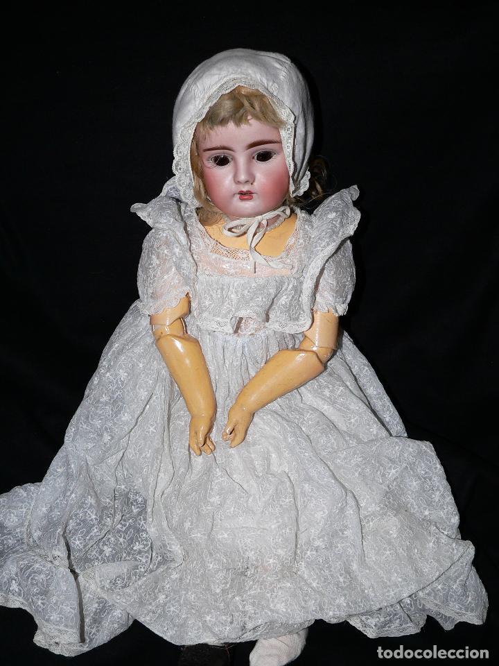 Muñecas Porcelana: Preciosa Muñeca de porcelana Simon&Halbing Mod. 269 DEP - Foto 8 - 46054018