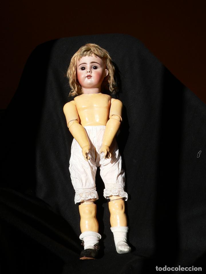 Muñecas Porcelana: Preciosa Muñeca de porcelana Simon&Halbing Mod. 269 DEP - Foto 9 - 46054018