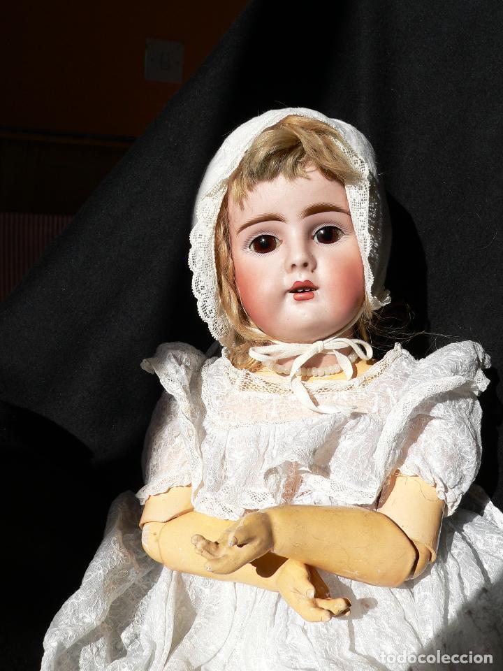 Muñecas Porcelana: Preciosa Muñeca de porcelana Simon&Halbing Mod. 269 DEP - Foto 10 - 46054018