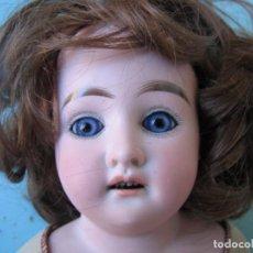 Muñecas Porcelana: ORIGINAL MUÑECA ALEMANA DE BISCUIT DE 44 CM. DE ALTURA MARCADA DEP/ FINALES DE 1800. Lote 99258011