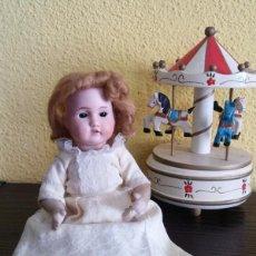 Muñecas Porcelana: ANTIGUA MUÑECA ALEMANA 18 CMTRS. PORCELANA.. Lote 99513011