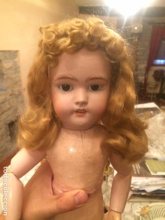 Muñecas Porcelana: Antigua muñeca de porcelana Alemana marca Simon y Halbig S y H Germany 1078 / 9 - Foto 2 - 99737739