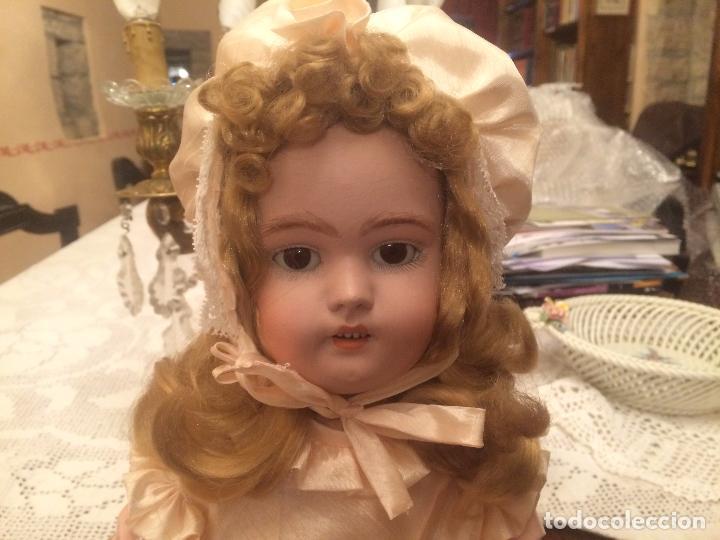 Muñecas Porcelana: Antigua muñeca de porcelana Alemana marca Simon y Halbig S y H Germany 1078 / 9 - Foto 6 - 99737739