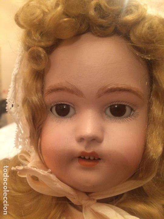 Muñecas Porcelana: Antigua muñeca de porcelana Alemana marca Simon y Halbig S y H Germany 1078 / 9 - Foto 7 - 99737739