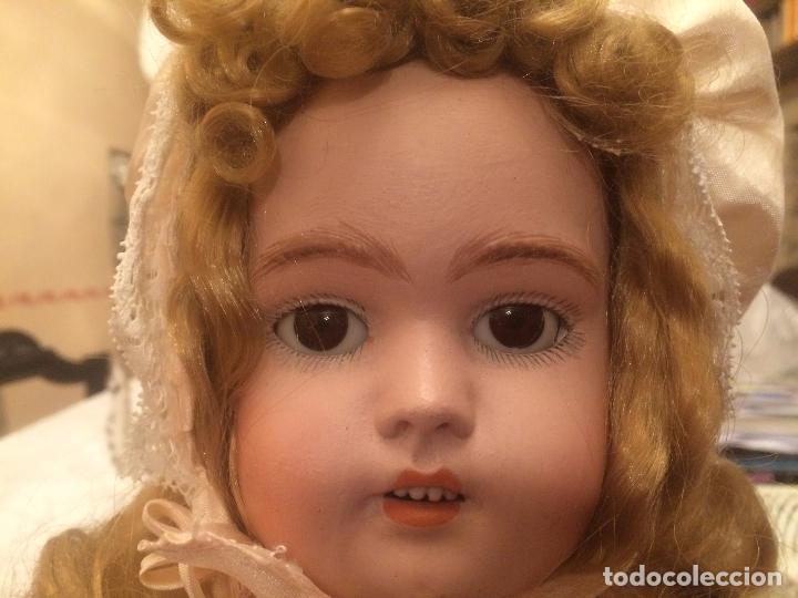 Muñecas Porcelana: Antigua muñeca de porcelana Alemana marca Simon y Halbig S y H Germany 1078 / 9 - Foto 8 - 99737739