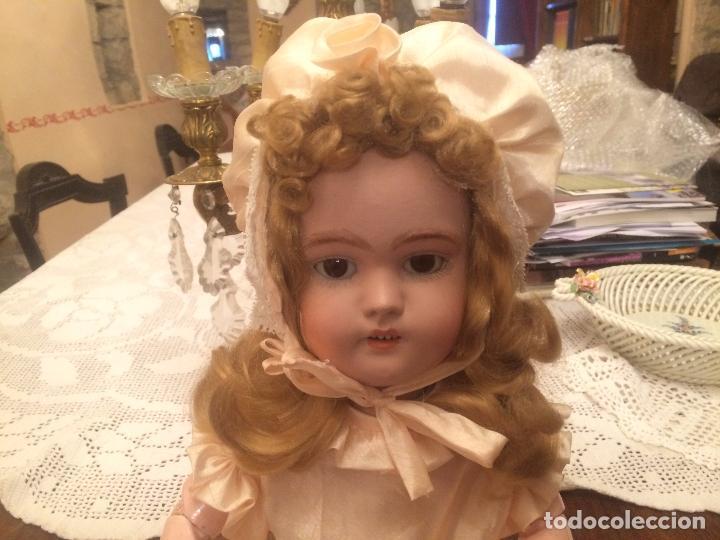 Muñecas Porcelana: Antigua muñeca de porcelana Alemana marca Simon y Halbig S y H Germany 1078 / 9 - Foto 11 - 99737739