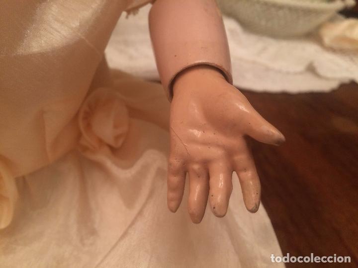 Muñecas Porcelana: Antigua muñeca de porcelana Alemana marca Simon y Halbig S y H Germany 1078 / 9 - Foto 14 - 99737739