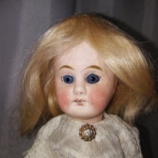 Muñecas Porcelana: ANTIGUA MUÑECA ALEMANA, CABEZA PORCELANA. 25 CMTRS.. Lote 100145487