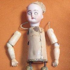 Muñecas Porcelana: MUÑECA PORCELANA,ANDADORA,AUTÓMATA,A CUERDA,GERMANY,PRINCIPIO DEL SIGLO XX. Lote 101096055