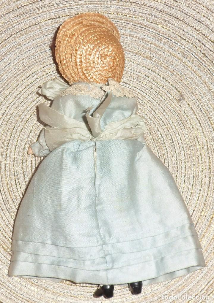 Muñecas Porcelana: MUÑECA DE FINO BISGUIT ALEMANA MUY ANTIGUA MARCADA EN NUCA TODA ORIGINAL - Foto 2 - 102155411