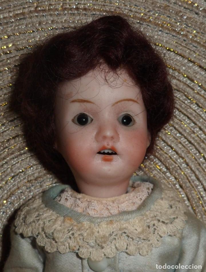 Muñecas Porcelana: MUÑECA DE FINO BISGUIT ALEMANA MUY ANTIGUA MARCADA EN NUCA TODA ORIGINAL - Foto 4 - 102155411