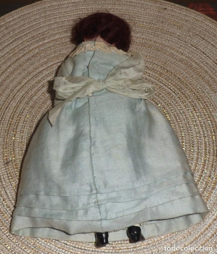 Muñecas Porcelana: MUÑECA DE FINO BISGUIT ALEMANA MUY ANTIGUA MARCADA EN NUCA TODA ORIGINAL - Foto 6 - 102155411