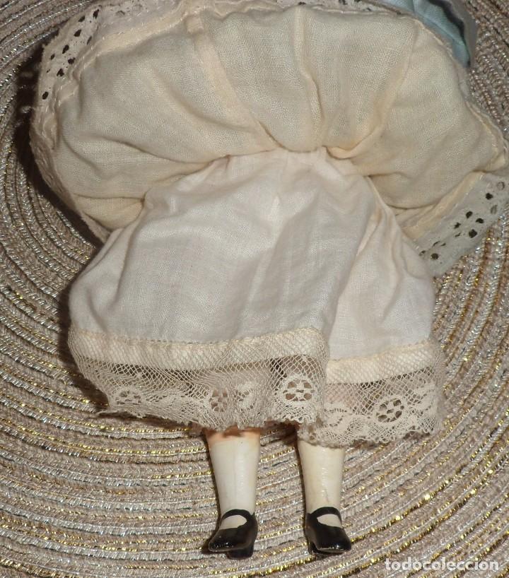 Muñecas Porcelana: MUÑECA DE FINO BISGUIT ALEMANA MUY ANTIGUA MARCADA EN NUCA TODA ORIGINAL - Foto 7 - 102155411
