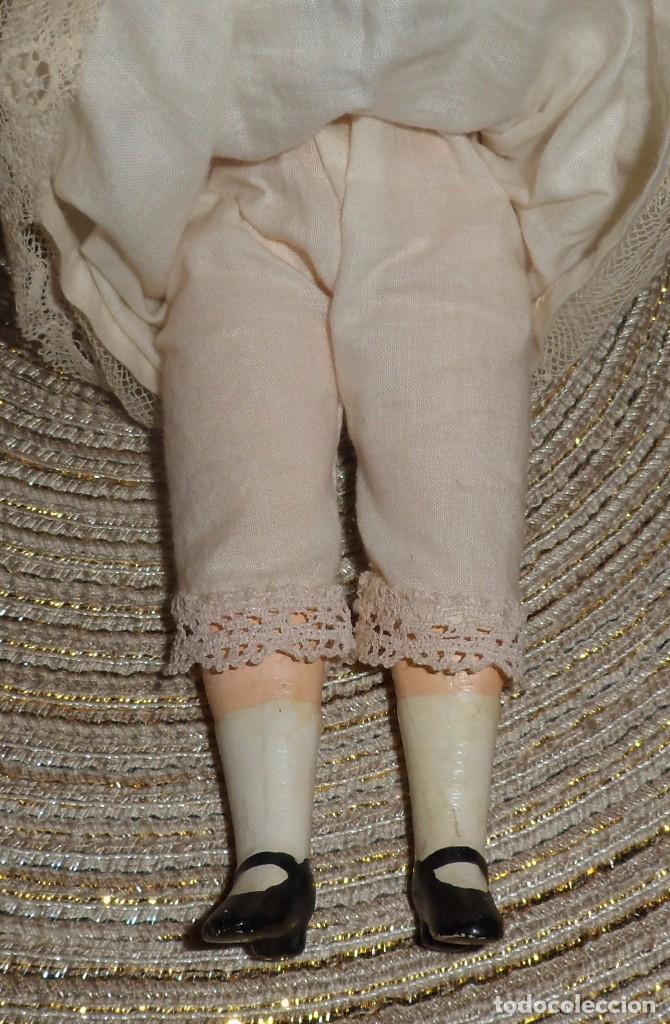 Muñecas Porcelana: MUÑECA DE FINO BISGUIT ALEMANA MUY ANTIGUA MARCADA EN NUCA TODA ORIGINAL - Foto 10 - 102155411