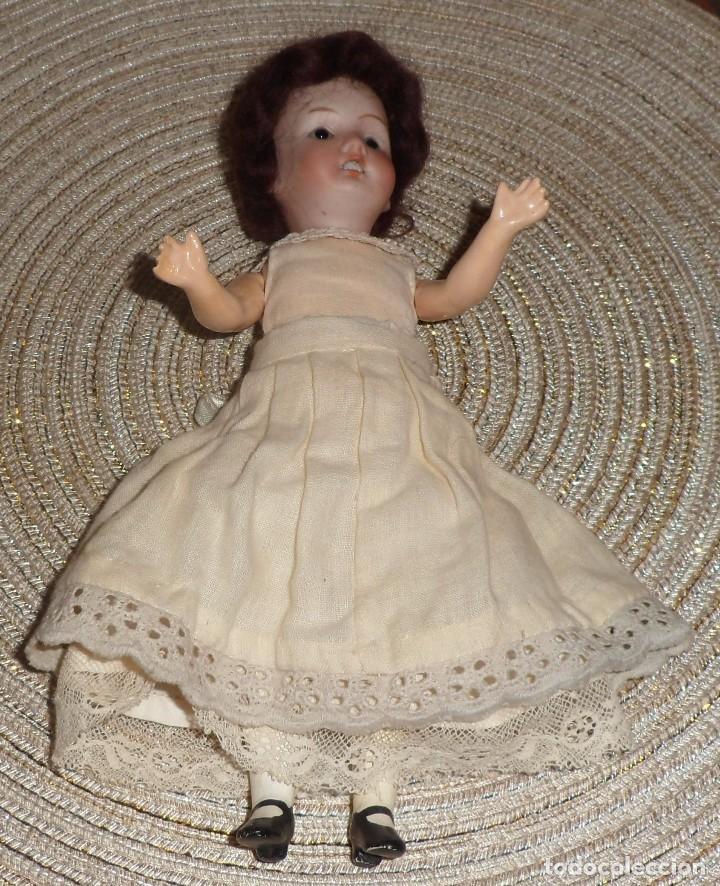 Muñecas Porcelana: MUÑECA DE FINO BISGUIT ALEMANA MUY ANTIGUA MARCADA EN NUCA TODA ORIGINAL - Foto 11 - 102155411