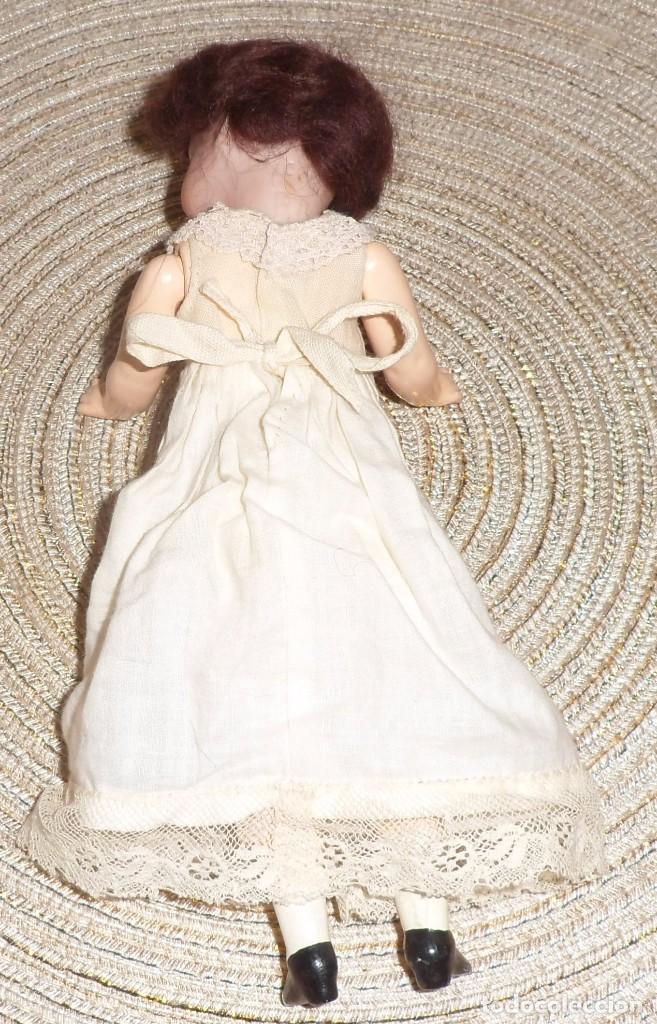 Muñecas Porcelana: MUÑECA DE FINO BISGUIT ALEMANA MUY ANTIGUA MARCADA EN NUCA TODA ORIGINAL - Foto 12 - 102155411