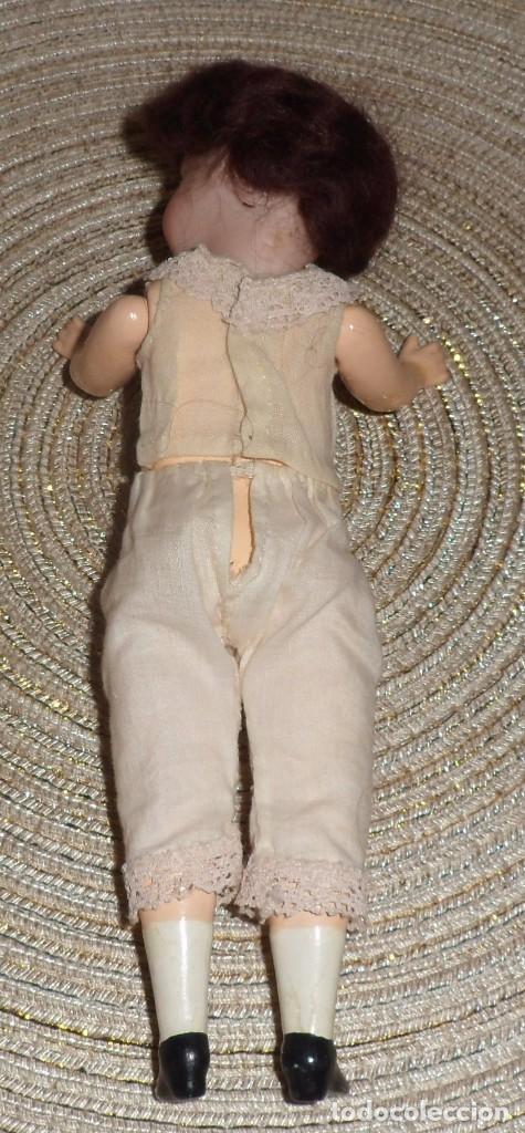 Muñecas Porcelana: MUÑECA DE FINO BISGUIT ALEMANA MUY ANTIGUA MARCADA EN NUCA TODA ORIGINAL - Foto 14 - 102155411