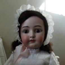 Muñecas Porcelana: ENORME MUÑECA SIMON Y HALBIG 85 CM TALLA 16 PARA EL MERCADO FRANCÉS, CUERPO ORIGINAL JUMEAU. Lote 56972986