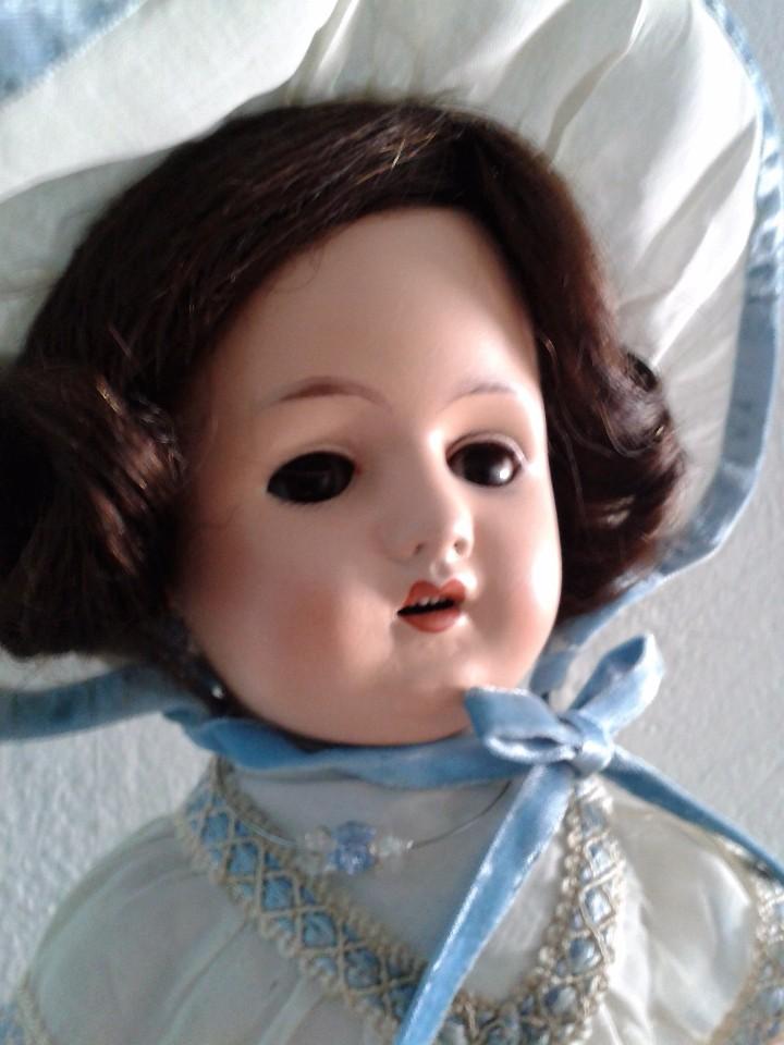 Muñecas Porcelana: MUÑECA DE PORCELANA ANTIGUA , ANCLA ,FIRMADO EN LA NUCA ,COMPLETAMENTE VESTIDA ,TODO ORIGINAL - Foto 4 - 103642179
