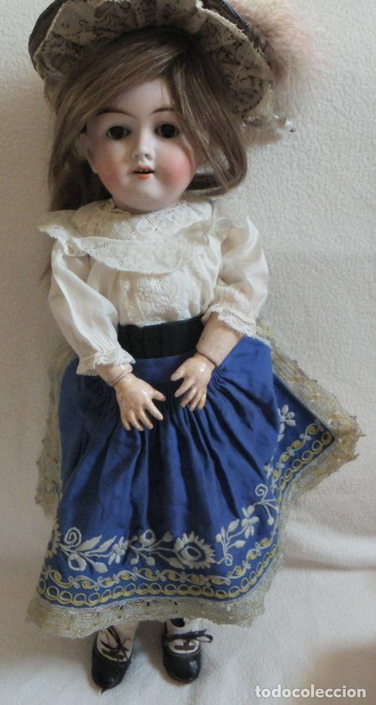 Muñecas Porcelana: Muñeca Alemana Max Handwerck 283. 46 cms. Aprox. 1910 - Foto 2 - 104183883