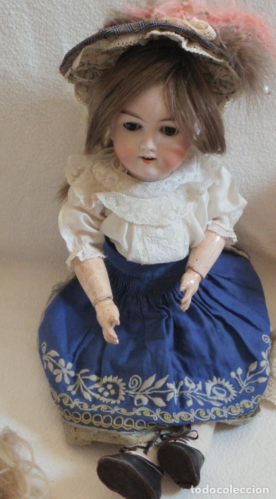 Muñecas Porcelana: Muñeca Alemana Max Handwerck 283. 46 cms. Aprox. 1910 - Foto 3 - 104183883