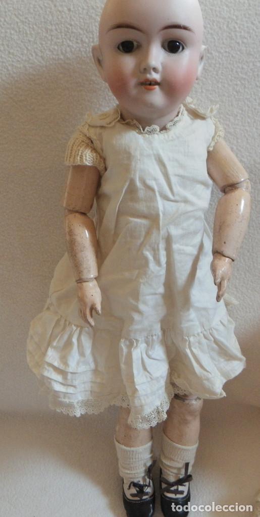 Muñecas Porcelana: Muñeca Alemana Max Handwerck 283. 46 cms. Aprox. 1910 - Foto 10 - 104183883