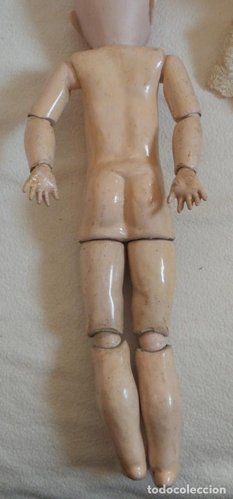 Muñecas Porcelana: Muñeca Alemana Max Handwerck 283. 46 cms. Aprox. 1910 - Foto 15 - 104183883