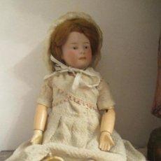 Muñecas Porcelana: ORIGINAL DOLL GEBRUDER HEUBACH-MOLDE 7608 -GH-GERMANY- 30 CM---VER FOTOS. Lote 104284843