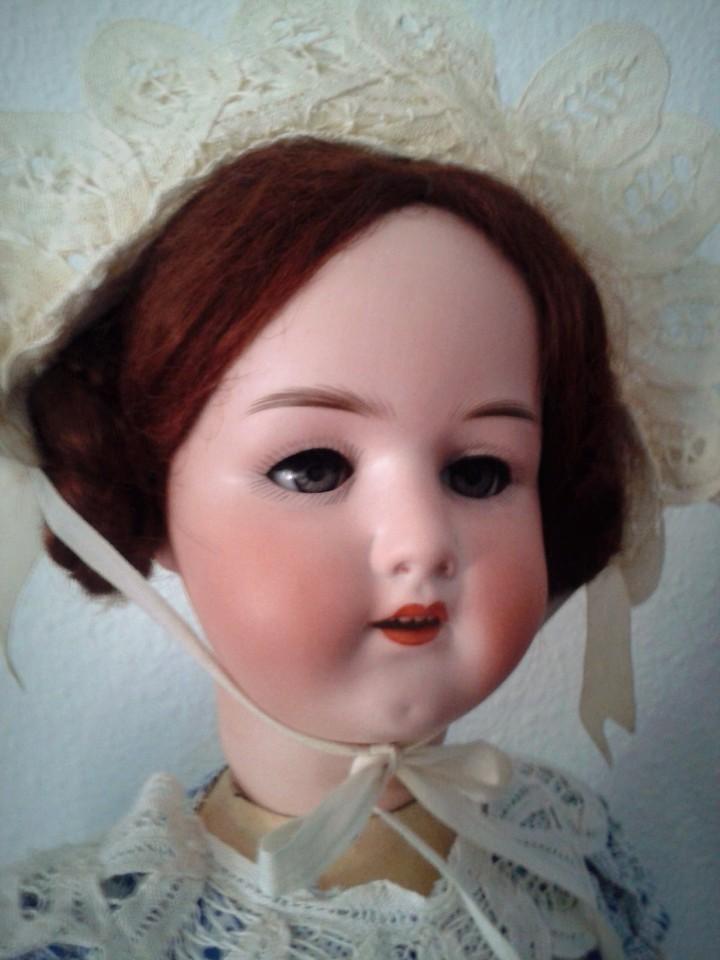 Muñecas Porcelana: IMPRESIONANTE MUÑECA ALEMANA ANTIGUA HEUBACH KOPPELSDORF 250 ,MARCADA EN LA NUCA , - Foto 3 - 104517479