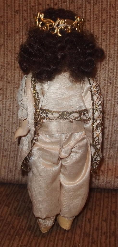 Muñecas Porcelana: MUÑECO CORTESANO,PORCELANA,G.KÜHNLENZ,GERMANY,SELLADO EN NUCA Y ZAPATOS,CAJA ORIGINAL,PPIO S.XX - Foto 3 - 104895191