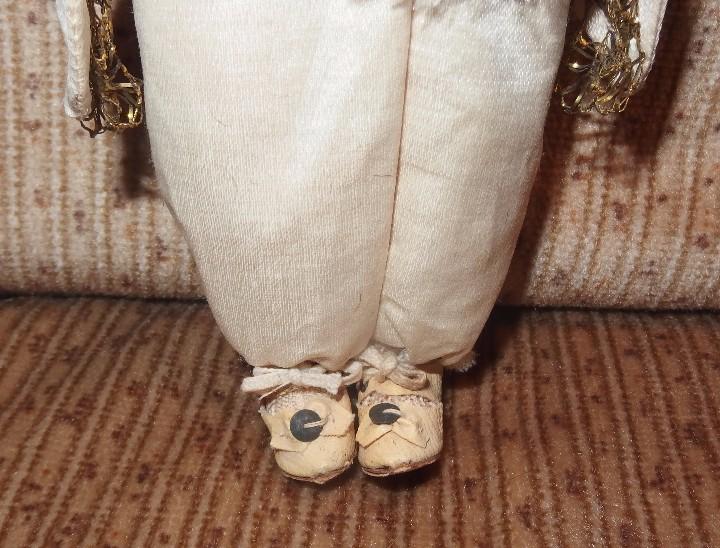 Muñecas Porcelana: MUÑECO CORTESANO,PORCELANA,G.KÜHNLENZ,GERMANY,SELLADO EN NUCA Y ZAPATOS,CAJA ORIGINAL,PPIO S.XX - Foto 4 - 104895191