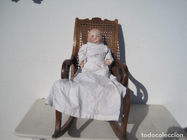 Muñecas Porcelana: MUÑECO ANTIGUO, CABEZA DE PORCELANA, ARMAND MARSEILLE. MY DREAM BABY. 40 CM. - Foto 4 - 105246411