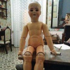 Muñecas Porcelana: EXCEPCIONAL MUÑECA ANTIGUA DE GRAN TAMAÑO Y CALIDAD - 67 CM. Lote 105600367