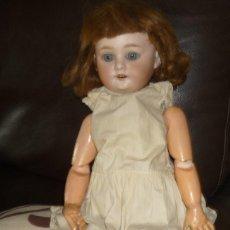 Muñecas Porcelana: MUNECA-ANTIGUA-DE-PORCELANA-ALEMANA-ANOS-50. Lote 105830123