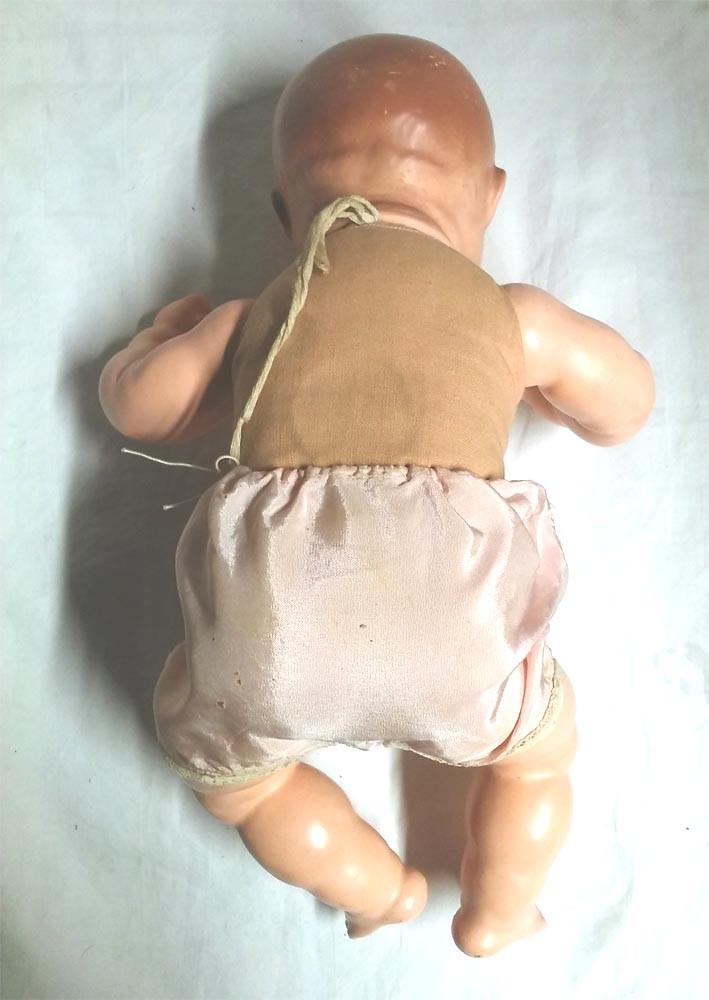 Muñecas Porcelana: Muñeco Bebé, llora, ojos durmientes movimiento lateral. Marca nuca (Germany 303 / 2), 36 cm alt - Foto 6 - 27344698
