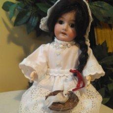 Muñecas Porcelana: MUÑECA DE ARMAND MARSEILLE. Lote 106078695