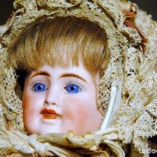 Muñecas Porcelana: ANTIGUA MUÑECA CON CABEZA DE TRES CARAS. DE CARL BERGNER PORCELANA. Lote 109285327